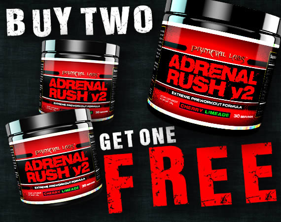 Adrenal Rush v2 Stim Pre Workout