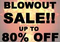 blowout 80% off